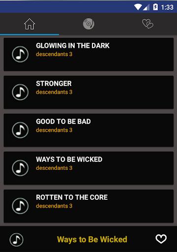 Music & Lyrics For Descendants 3 Fans Hack, Cheats & Hints