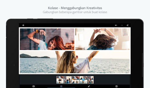 Adobe Photoshop Express: Edit Foto Buat Collage Screenshot