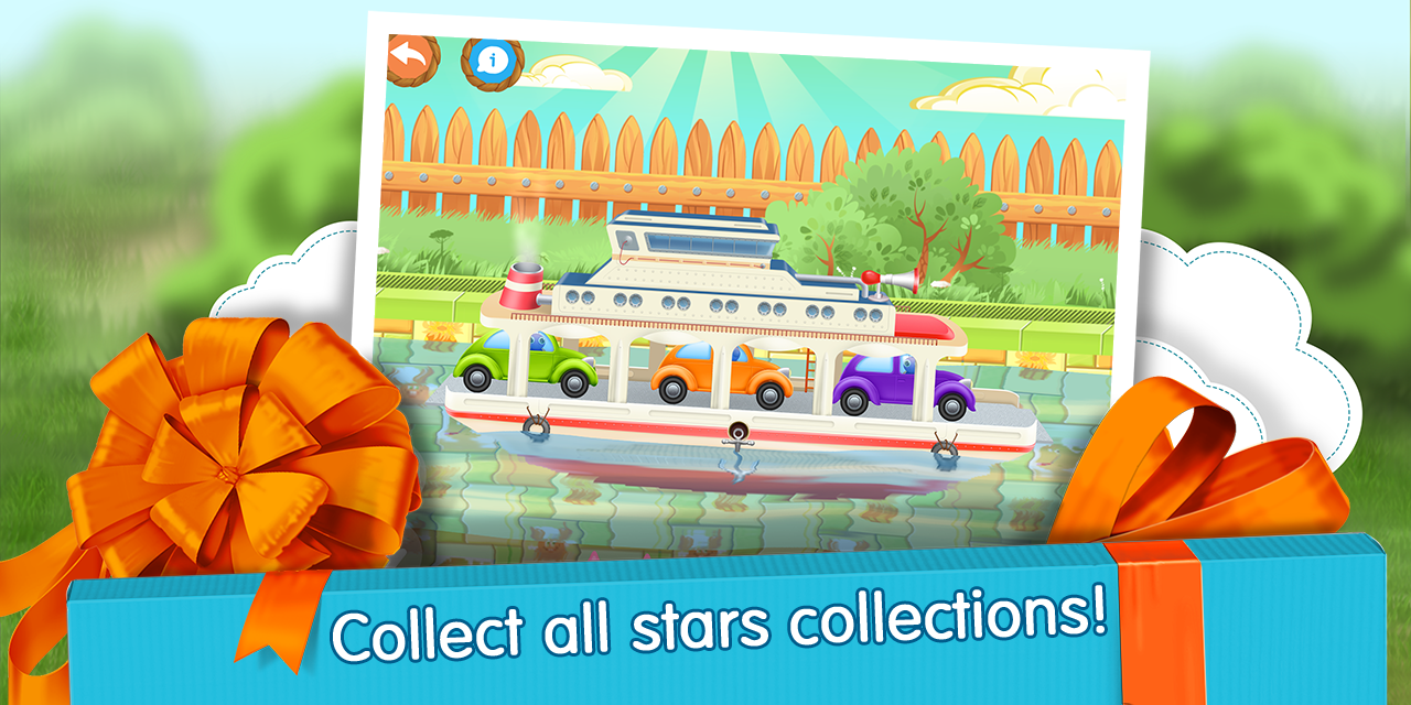 Cars in Gift Box (app 4 kids)- screenshot