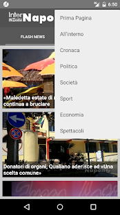 InterNapoli.it- miniatura screenshot