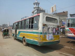 Photo: Typický vzhled městské hromadné dopravy (dálkové autobusy při kolizi dopadnou mnohem hůř).