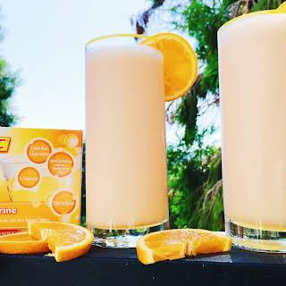 Tangerine Creamsicle Vitamin C Smoothie.