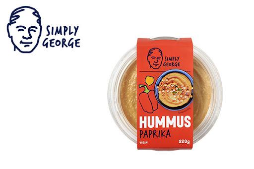 Bild für Cashback-Angebot: Simply George Hummus Paprika