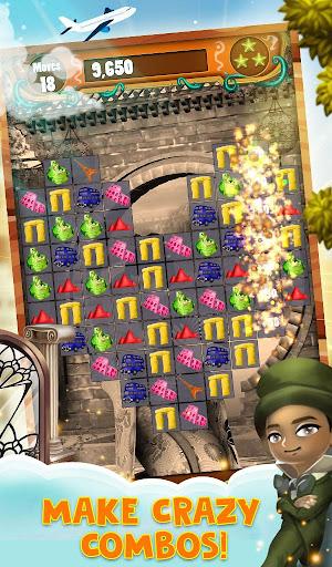 Match 3 World Adventure - City Quest apkpoly screenshots 6