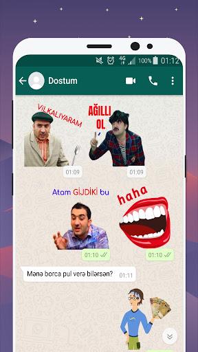 Azerbaijan Stickers for WhatsApp - WAStickerApps 12.2.06 screenshots 6