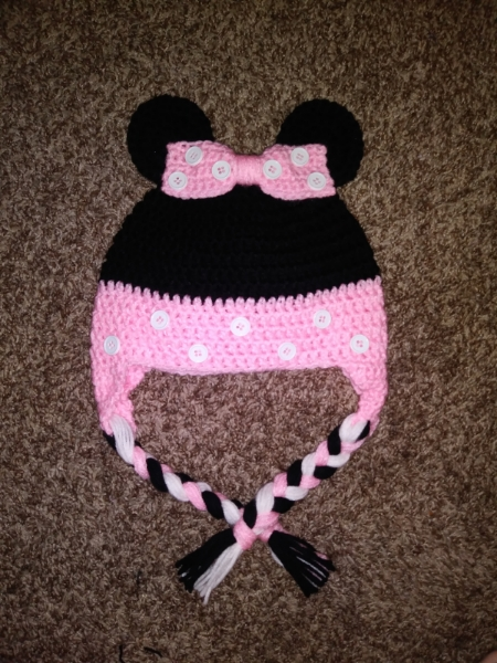 Crochet Minnie Mouse Hat | Kids & Baby | Popsy