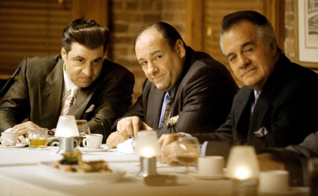 Tony and friends. Picture: HBO