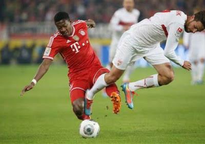 Muller, Rafinha et Alaba ne joueront pas avec le Bayern contre Anderlecht