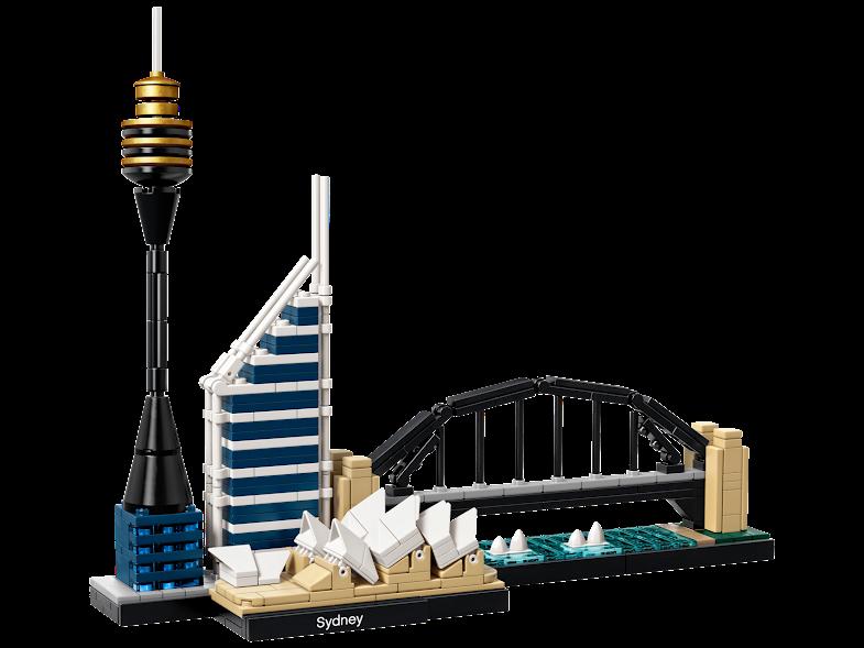Contenido de Lego® 21032 Sidney