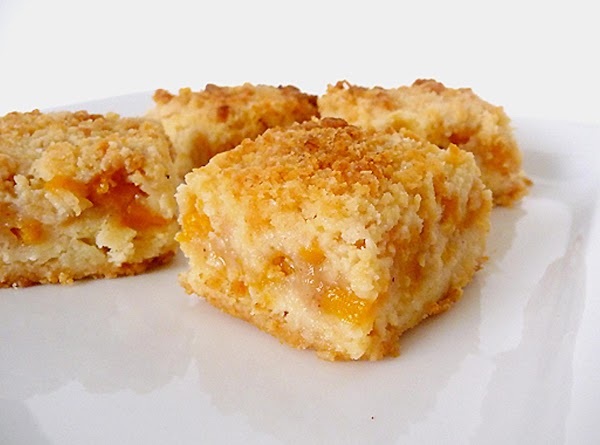 Peach Crumb Bars Recipe