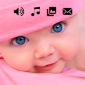 Funny Baby Laughing Ringtones Cute Baby Images icon