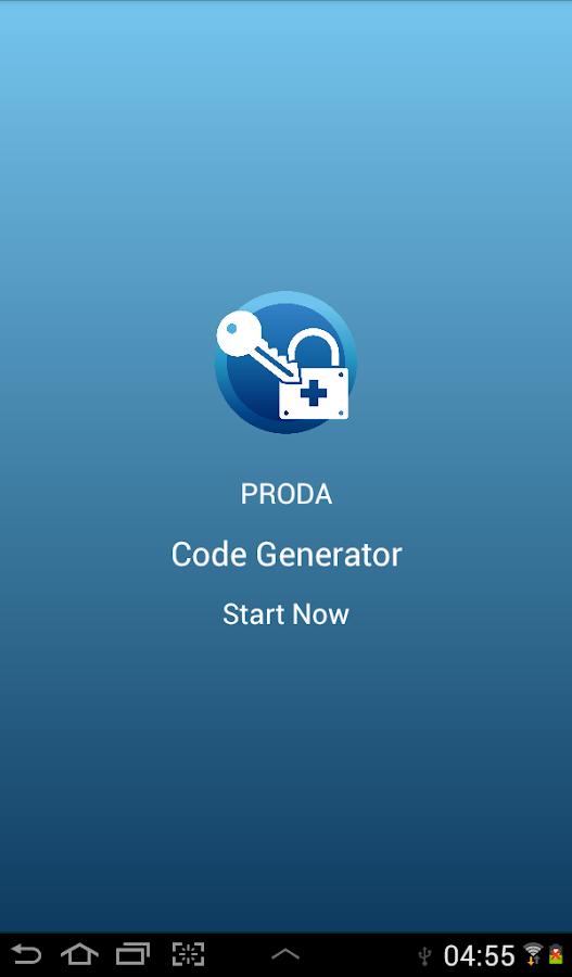 how to set up proda