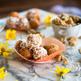 Carrot Cake Batter Bites (raw).