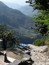 Photo: Gaining elevation fast above Tikhedhunga