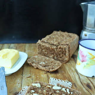 Rye bread with coffee, Quinoa and Almonds.
