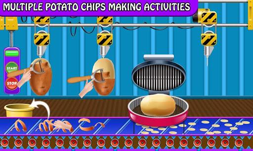 Crispy Potato Chips Maker Factory u2013 Snacks Making 1.0 screenshots 2