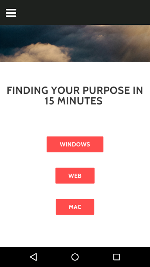 Find Your Purpose in 15 Min- screenshot