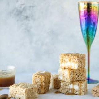 Champagne Caramel Krispie Treats Recipe