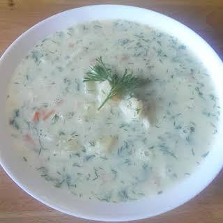 Summer Cauliflower Soup.