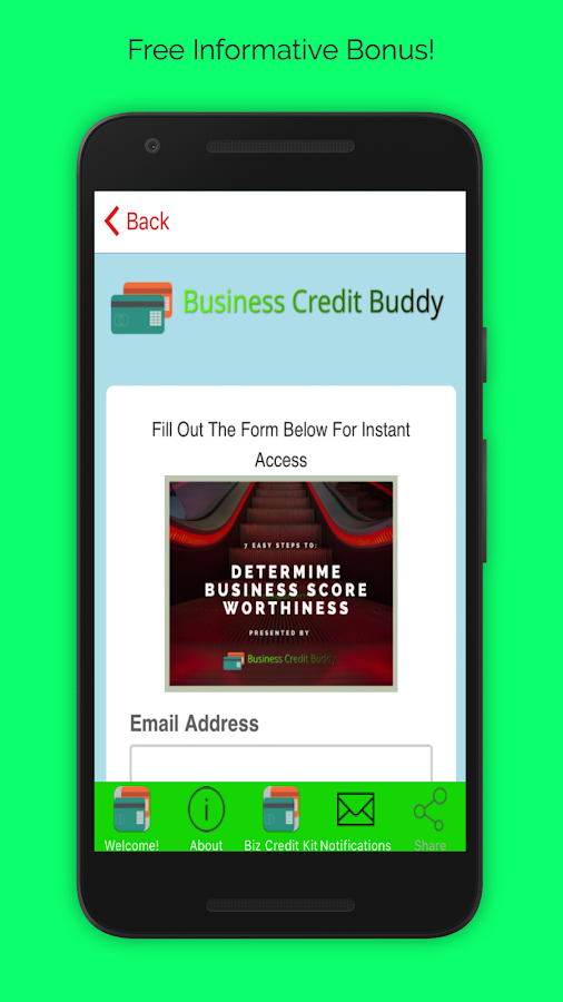 Business Credit Buddy App- screenshot