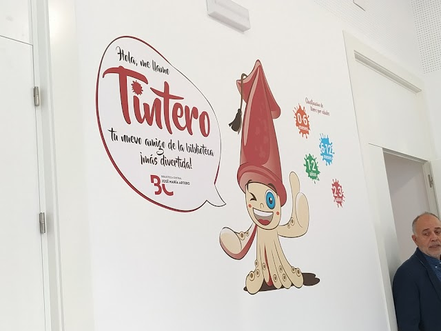 \'Tintero\', la mascota de la biblioteca
