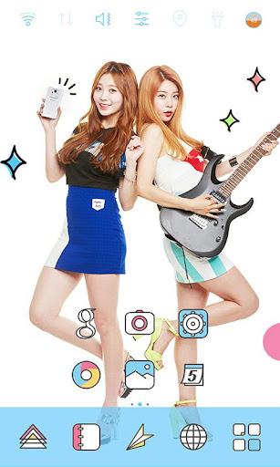 Bandplay Girlsday Rock theme