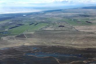 Photo: Farmland near the coast.