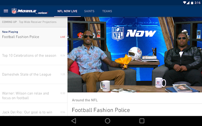 NFL Mobile Android 7