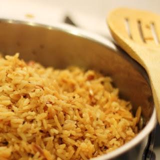 Seasoned Rice Pilaf