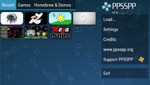 PPSSPP - PSP Emulator APK screenshot thumbnail 1