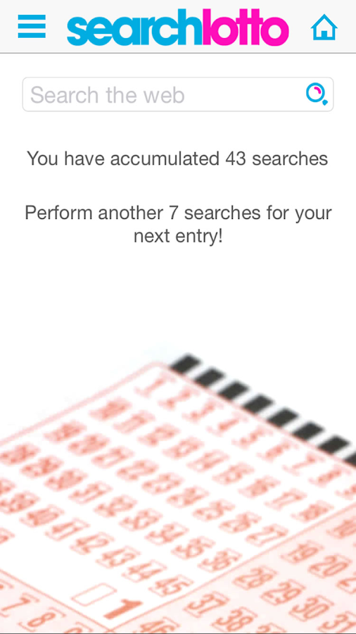 Search Lotto- screenshot