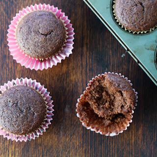 Chocolate Cupcakes {using almond flour}