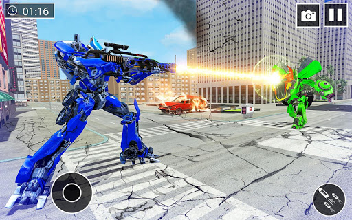 US Police Car Transform Robot War Rescue 2020  screenshots 13