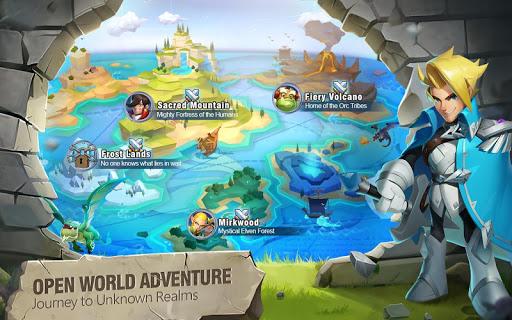 Heroes Bash  captures d'écran 1