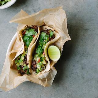 Black Bean Tacos With Kiwifruit Salsa
