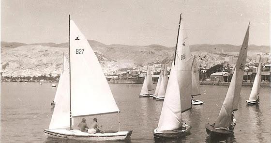 La Almería de los barquitos veleros