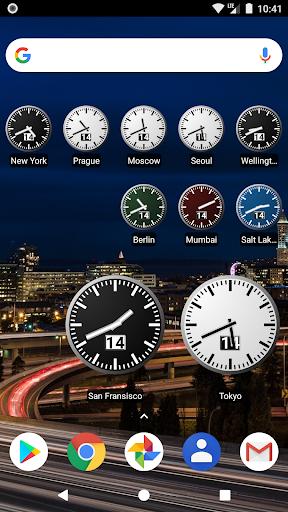 World Clock Widget 4.5.9 screenshots 1