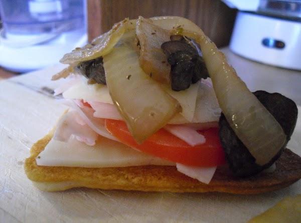 Turkey Swiss Snack Sandwiches Recipe