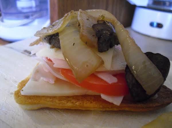 Turkey Swiss Snack Sandwiches
