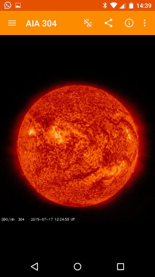The Sun Now - NASA/SDO & Muzei - Android Apps on Google Play
