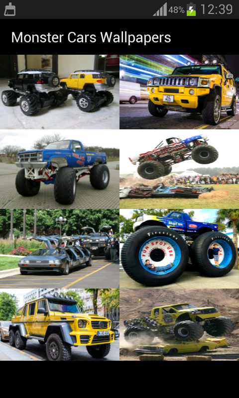 Monster Cars Wallpapers Android Apps On Google Play