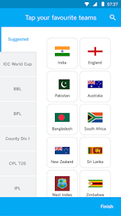 ESPNCricinfo Cricket scores, news & videos Screenshot