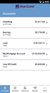 Heartland Federal Credit Union screenshot 2