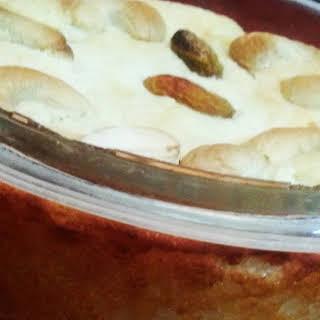 Chhena Poda / Baked Cottage Cheese Cake.