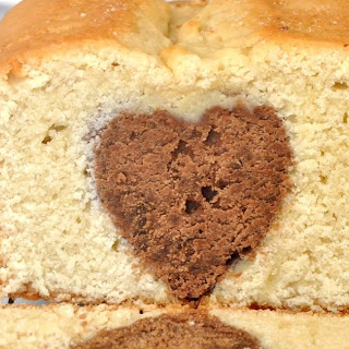 Chocolate Heart Pound Cake