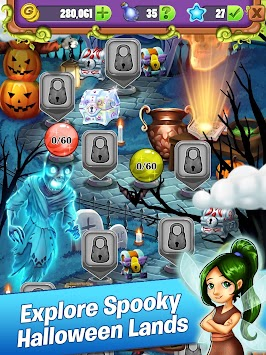 Halloween Adventure.Mahjong Halloween Adventure Monster Mania Apk Naujausia Versija 1 0