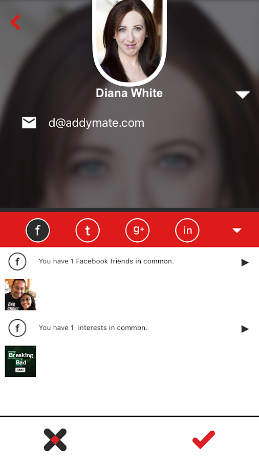 AddyMate- screenshot