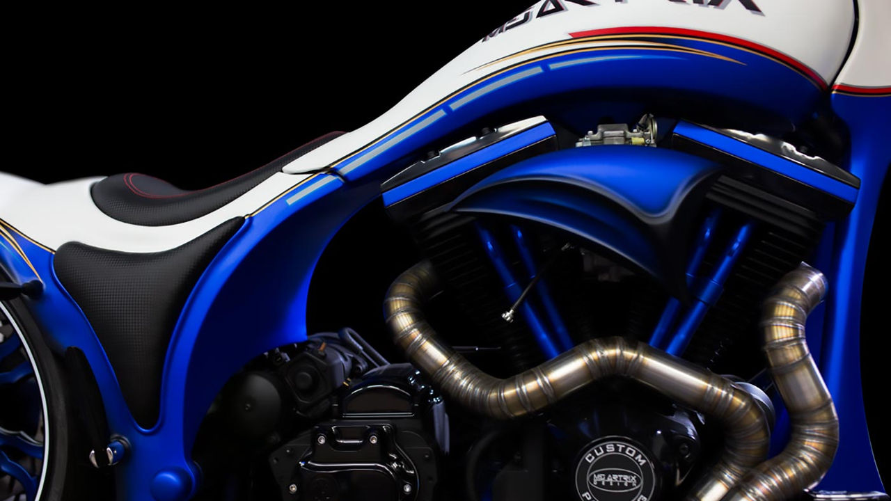 "Harley-Davidson ""Crazy Wolf"" by MS Artrix"