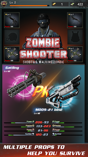 Télécharger Gratuit walking zombie shooter: zombie shooting games APK MOD (Astuce) screenshots 3