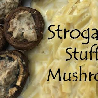 Stroganoff Stuffed Mushrooms